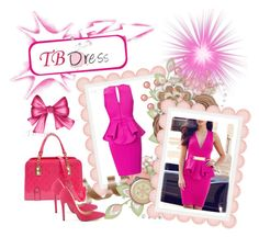 """TBDress 18"" by hetkateta ❤ liked on Polyvore featuring moda, dress, tbdress y womenclothes"
