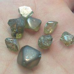 Diamond rough(uncut diamond) Minerals And Gemstones, Rocks And Minerals, Crystals And Gemstones, Stones And Crystals, Uncut Diamond, Rough Diamond, Diamond Cuts, Gem Diamonds, Quality Diamonds