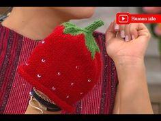 Çilek bere örgü yapılışı kış mevsiminin vazgeçilmezi bere yapılışları, özellikle annelerimiz kendiler örmek istiyorlar. El emekleri oldukça özel olan el işi Baby Hats Knitting, Knitted Hats, Knitting Designs, Knitting Patterns, Strawberry Baby, Baby Hat Patterns, Great Hobbies, Knitting For Beginners, Beret