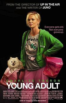 Charlize Theron in anything.  Young Adult to be specific.  My future 2013 summer life to be exact.