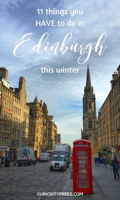 If you haven't been to Edinburgh before, then its time you planned a visit! From Harry Potter tours, ghost walks and curious histories to festivals and Christmas markets. Check out the 11 things you just HAVE to do in Edinburgh this winter! Edinburgh Winter, Edinburgh Christmas Market, Edinburgh Scotland, Scotland Travel, Christmas Markets, Christmas Art, New Travel, Winter Travel, Travel Goals