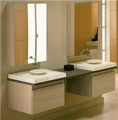 I like this -- clean, open space underneath - would be perfect for my bathroom.
