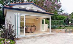 doors and kitchen cabana design