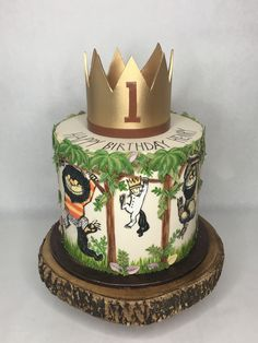 Where the Wild Things Are Boys First Birthday Party Ideas, Wild One Birthday Party, Baby Boy First Birthday, First Birthday Cakes, Boy Birthday Parties, Twins 1st Birthdays, Wild Things, Baby Shower, Masons