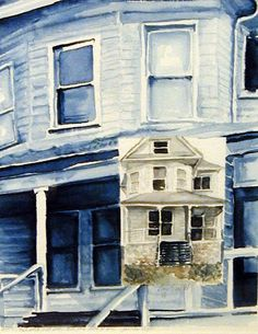 Tribute to James Agee  original watercolor