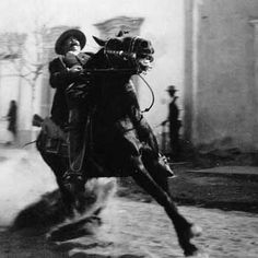 Francisco Pancho Villa, with whom members of my family fought with. La Raza!