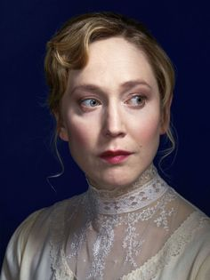 Hattie Morahan as Nora Helmer in Ibsen's A Doll's House 2012