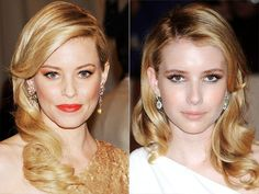 FILM NOIR WAVES  Veronica Lake makes a Hollywood return – or at least her hair does, as stars like Elizabeth Banks and Emma Roberts revive the vintage style.