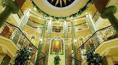 Beau Soleil Nile cruise lobby