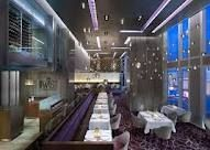 TWIST - located in the Mandarin Oriental serves French food with a twist.  Excellent food.  This is am up and coming restaurant in Vegas.  Extremely pricy!