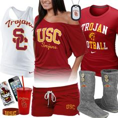 Women's USC Trojans Fan Gear