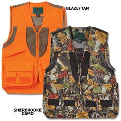 Get ready for hunting season with the Upland Game Vest!