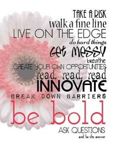 Need a reminder to get a little messy every once in a while?  Get this Free Printable and more at The Bold Abode!