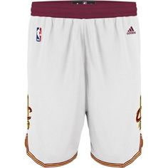 Cavs adidas Cavaliers Swingman Short in wine at the Cleveland Cavaliers Team Shop