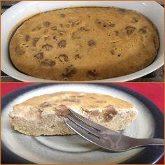 Backtoeden: Torta de fécula de Maíz y frutos secos Pancakes, Breakfast, Food, Egg Wash, Fruit, Coconut Oil, Lunches, Morning Coffee, Essen