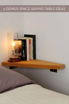http://credito.digimkts.com No dejes que el mal crédito que reducir la velocidad. (844) 897-3018 Free up more room in your home with these five genius space-saving table ideas.