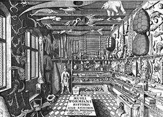Incisione del Museo Wormianum, Ole Worm, 1655