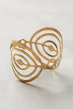 Coiled Cuff - anthropologie.com #anthrofave