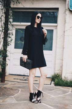 The Best LBDs for Fall | how to style a black dress | how to wear a black dress | black dress fashion tips | fall fashion tips | fall outfit ideas | fall style tips | what to wear for fall | cool weather fashion | fashion for fall | style tips for fall | outfit ideas for fall || Dressed to Kill