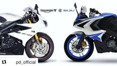 BREAKING: Bajaj Auto and Triumph Motorcycles UK announce global partnership; promises mid-capacity motorcycles. #bajajauto #triumph #bajajtriumph #partnership #powerdrift  #Repost @pd_official (@get_repost)