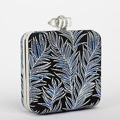 Women's Flower Texture Square Special Occasion Evening Handbags / Clutches (More Colors) – USD $ 39.99