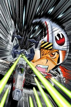 Star Wars Manga: A New Hope cover art by Adam Warren and Joseph Wight Star Wars Comics, Bd Star Wars, Star Wars Manga, Star Wars Art, Star Trek, Anime Stars, Star Wars Wallpaper, Geek Culture, Pop Culture