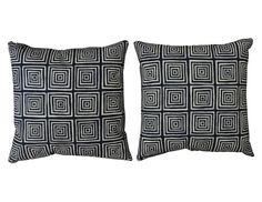 Quadrille Pillows Set of 2 | The Local Vault