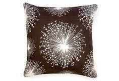 Seed 22x22 Linen Pillow, Brown on OneKingsLane.com