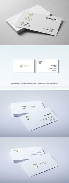 Business card top view mockup pinterest minimal business card minimal professional business card cleanwhite white reheart Choice Image