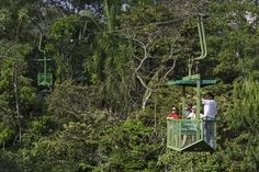 Teleferico en Gamboa Rainforest Resort. Gamboa, Panama City, Panama