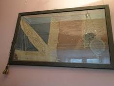 The legendary Fairy Flag passed on by Scottish clan leaders for over years Fairy Queen, Scottish Clans, Evil Spirits, His Travel, Victoria And Albert Museum, Interesting History, Far Away, Scotland, Flag