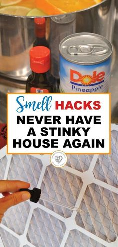 Have a stinky room in your house? Try one of these ideas! These are simple, homemade ways to keep your house smelling fresh and amazing! Go ahead and enjoy a great smelling home with these genius hacks! Deep Cleaning Tips, House Cleaning Tips, Diy Cleaning Products, Spring Cleaning, Cleaning Hacks, Diy Hacks, Cleaning Recipes, Cleaning Solutions, House Smell Good