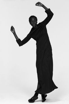Fashion Editorial II Atong Arjok by Paul Jung for Suited Magazine 2015