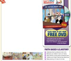Help your child understand God's role in American history with this FREE DVD!