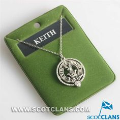 Keith Clan Crest Pendant