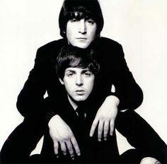 John and Paul by David Bailey | via Beatle Love ~ Cityhaüs Design