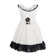 Fashion Playground brings a lovely elegant wedding party dress for girls that are made from cotton and provides a soft and stylish look to your tot! Girls Party Dress, Wedding Party Dresses, Girls Dresses, White Dress Summer, Summer Dresses, Made Clothing, Navy Dress, Dress For You, Elegant Wedding