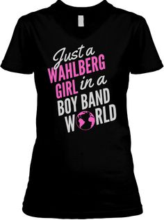 0e09206d3 Limited Edition Wahlberg Girl Tees! Nkotb Cruise, Donnie Wahlberg, Mark  Wahlberg, Girls