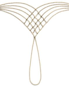 Gold Chain Hand Bracelet