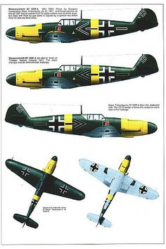 Bf 109 F, F1, F2, F4 and F4 Trop variants (9) | by GLORY. The largest archive of german WWII images