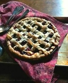 Mixed Berry Pie with a Lattice Crust ★ ✩ ✮ ✯ ✰ ☆