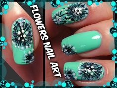 Flowers Nail Art - Designs Tutorial for Beginners Easy Simple - By Beaut. Nail Tutorials, Design Tutorials, Red Manicure, Hair And Nails, Nail Art Designs, Simple, Easy, Flowers, Beautiful