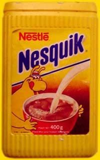 Nesquik - this is what ours looked like when i was little. Don't remember the character on there but I still totally remember the feel of that ridged plastic container :) My Childhood Memories, Sweet Memories, Peter Et Sloane, Nesquick, Nestle Chocolate, Good Old Times, 80s Kids, Oldies But Goodies, Old Toys