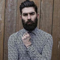 beardsaresexy_chrisjohnmillington medium length hair and beard