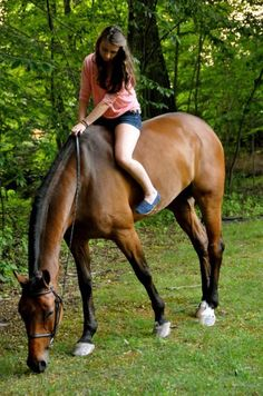 This reminds me of ME when I was young and riding bareback in Iowa. :)