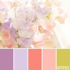 Bridal Blooms #patternpod #patternpodcolor #color #colorpalettes