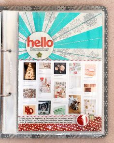 For December Daily - love the Hello December