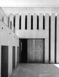 GILLES PERRAUDIN CELLAR IN SOLAN The Uncanny, Cellar, Facade, Architecture Design, Stairs, Exterior, Nice, Bb, Models