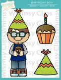 Birthday Boy Clip Art Freebie