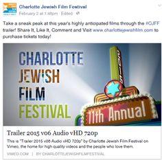2015 Charlotte Jewish Film Festival Jewish Film Festival, Messianic Judaism, Charlotte, Lifestyle, Learning, People, Studying, Teaching, People Illustration